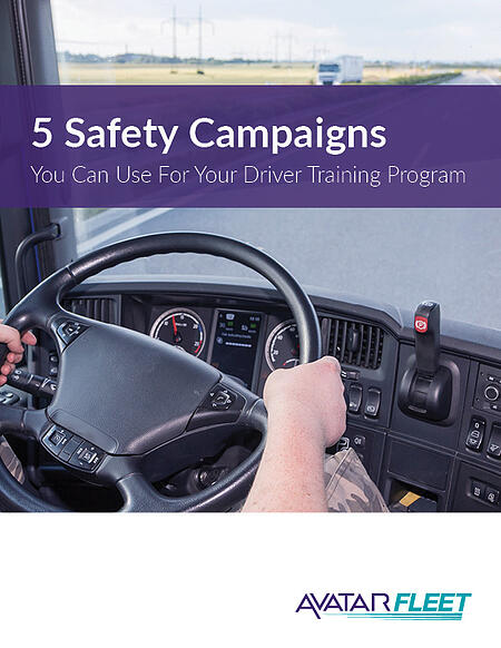 5 Safety Campaigns You Can Use For Your Driver Training Progarm